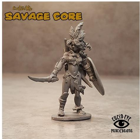 28mm Fantasy: Amazon Boss Parite