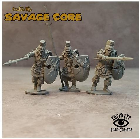 28mm Fantasy: Atlantean Bods 1