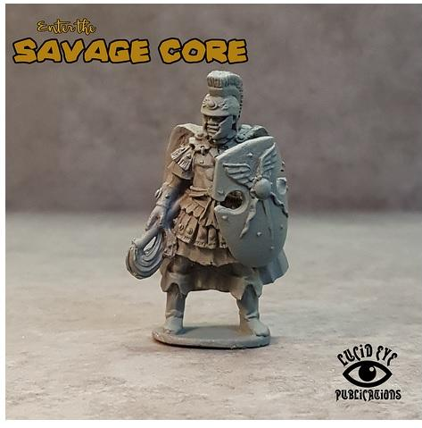 28mm Fantasy: Atlantean Boss Vitus