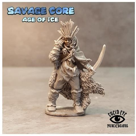 28mm Fantasy: Amazon Boss Seratra the Foundling