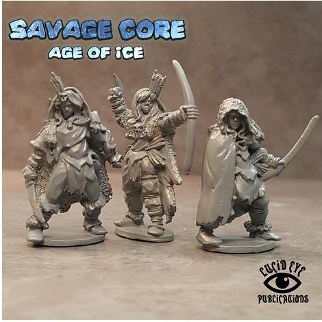 28mm Fantasy: Age of Ice Amazons 1