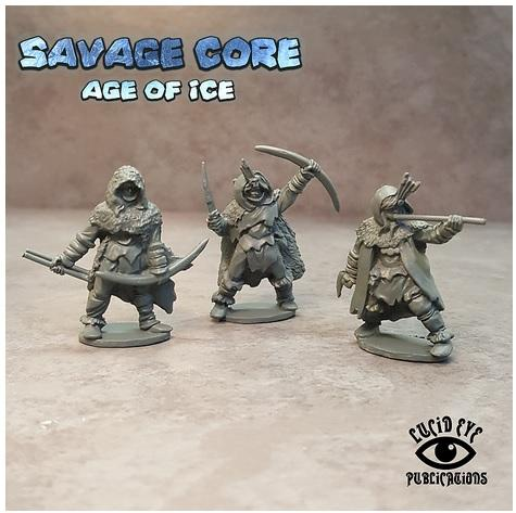 28mm Fantasy: Age of Ice Amazons 2