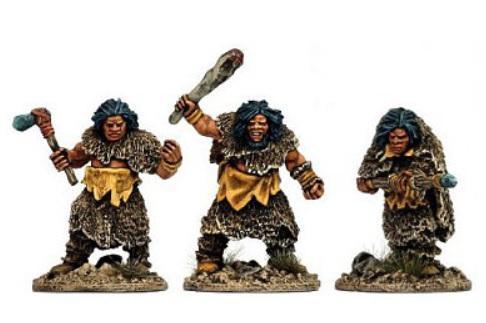 28mm Fantasy: Neanderthal Bods 2