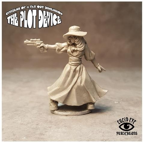 28mm Fantasy: Snapworks Operative, Candy Peoples