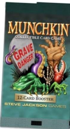Munchkin CCG: Grave Danger Booster Pack (1)