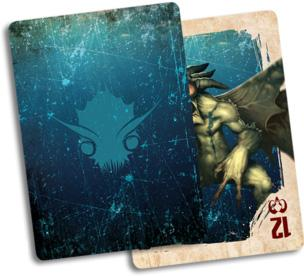 The Other Side: Gibbering Hordes Fate Deck (Plastic)