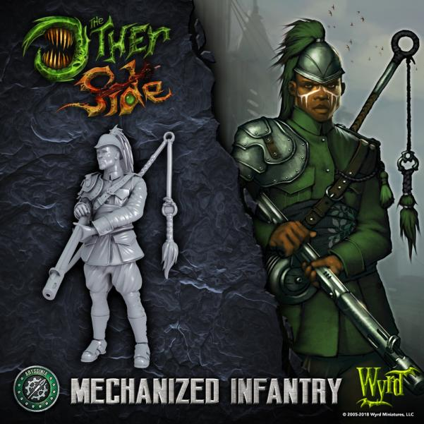 The Other Side (Abyssinian Empire): Mechanized Infantry