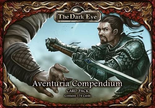 The Dark Eye RPG: Aventuria Compendium Card Pack