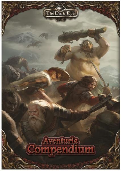 The Dark Eye RPG: Aventuria Compendium (HC)