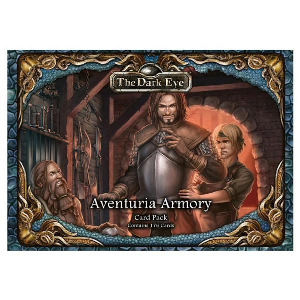 The Dark Eye RPG: Aventurian Armory Card Pack