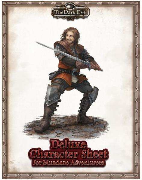 The Dark Eye RPG: Deluxe Character Sheet for Mundane Adventurers