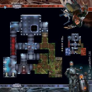 Star Wars Imperial Assault: Skirmish Map - Tarkin Initiative Labs