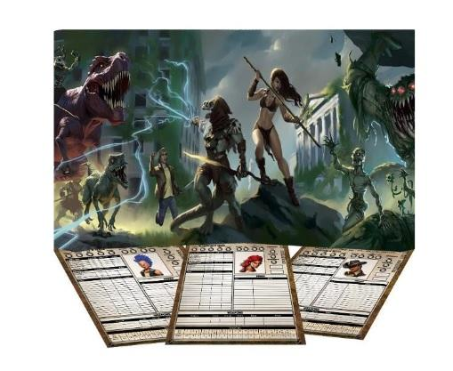 Torg Eternity RPG: The Living Land GM Screen