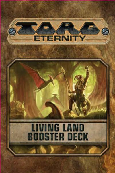 Torg Eternity RPG: The Living Land Booster Deck