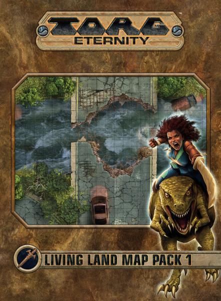 Torg Eternity RPG: Living Land Map Pack 1