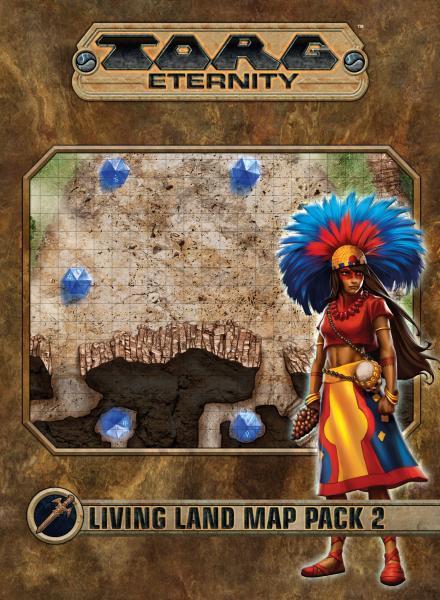 Torg Eternity RPG: Living Land Map Pack 2
