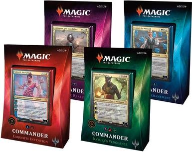 Commander Deck: 2018 (One Deck)