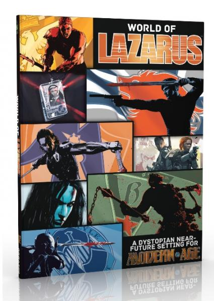 Modern Age RPG: The World of Lazarus