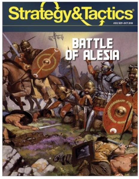 Strategy & Tactics Magazine: #312 Battle of Alesia