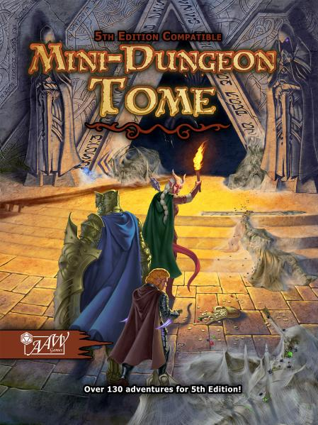 D&D 5th Edition: Mini-Dungeon Tome