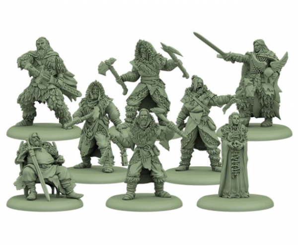 Song of Ice & Fire Miniatures Game: Free Folk Starter