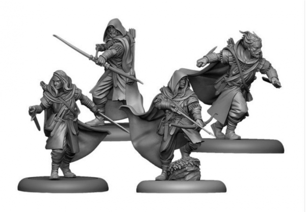 Song of Ice & Fire Miniatures Game: Crannogman Trackers