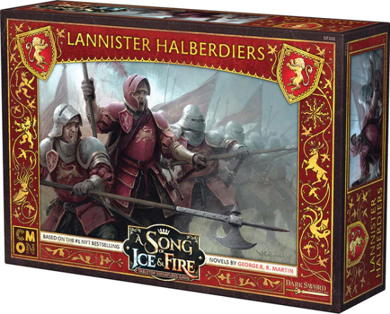 Song of Ice & Fire Miniatures Game: Lannister Halberdiers