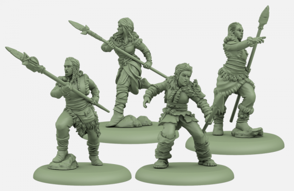 Song of Ice & Fire Miniatures Game: Free Folk Spearwives Unit Box