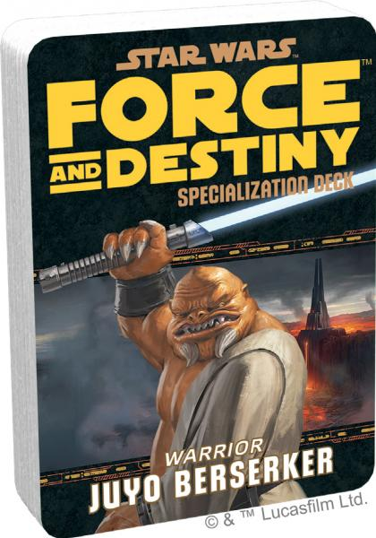 Force and Destiny RPG: Juyo Berserkers Specialization Deck