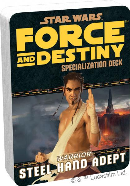 Force and Destiny RPG: Steel Hand Adept Specialization Deck