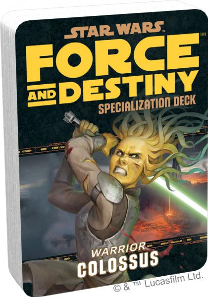 Force and Destiny RPG: Colossus Specialization Deck