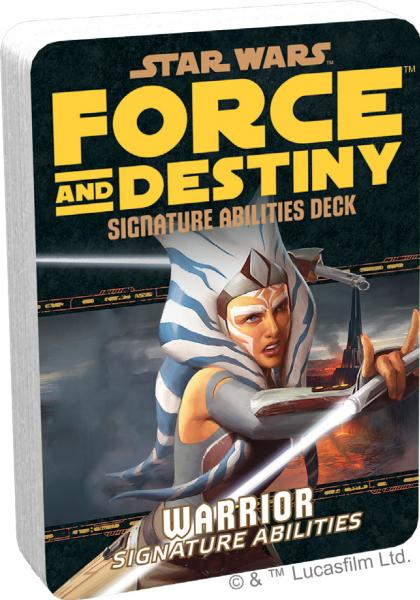 Force and Destiny RPG: Warrior Signature Abilities Specialization Deck