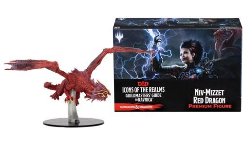D&D Minis: Icons of the Realms - Guildmasters' Guide to Ravnica: Niv-Mizzet Red Dragon