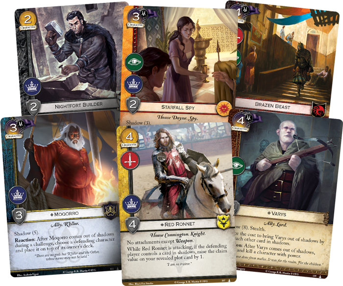 A Game of Thrones LCG: Daggers in the Dark