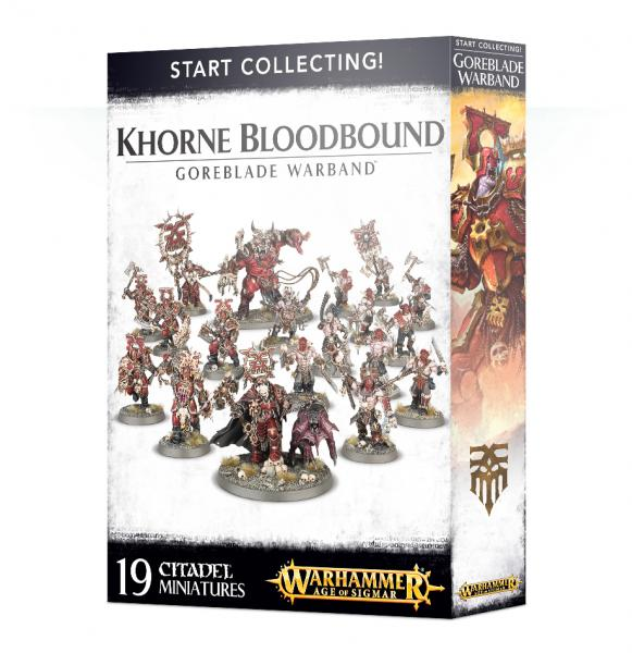 Age of Sigmar: Start Collecting! Khorne Bloodbound - Goreblade Warband