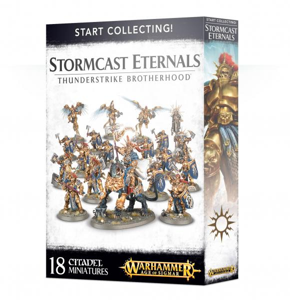 Age of Sigmar: Start Collecting! Stormcast Eternals Thunderstrike Brotherhood