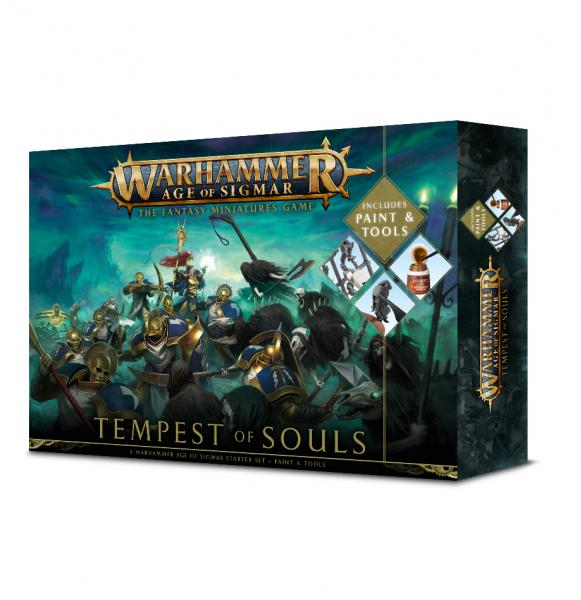Age of Sigmar: Tempest of Souls w/ Paint Set