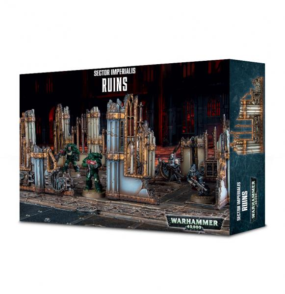 Warhammer 40K: Sector Imperialis - Ruins