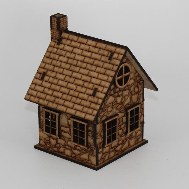 Laser Craft Workshop MDF Terrain: Primrose, the Widow's Cottage