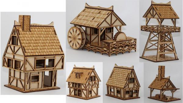 Miniature Terrain - Game Kastle Online