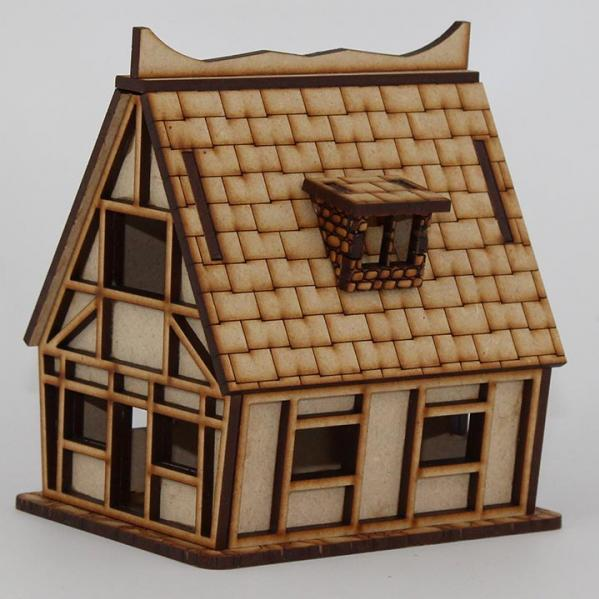 Laser Craft Workshop MDF Terrain: Small House