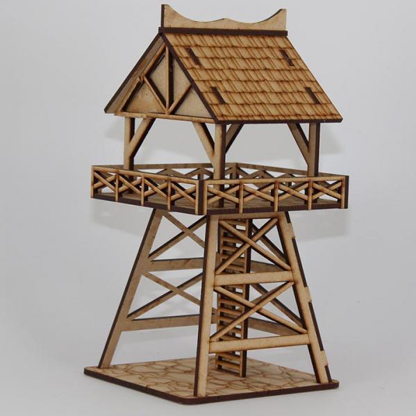 Laser Craft Workshop MDF Terrain: Town Guard Tower