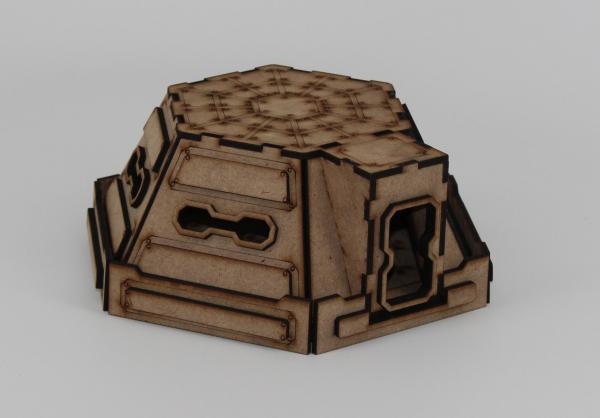 Laser Craft Workshop MDF Terrain: Sector 38 Pillbox