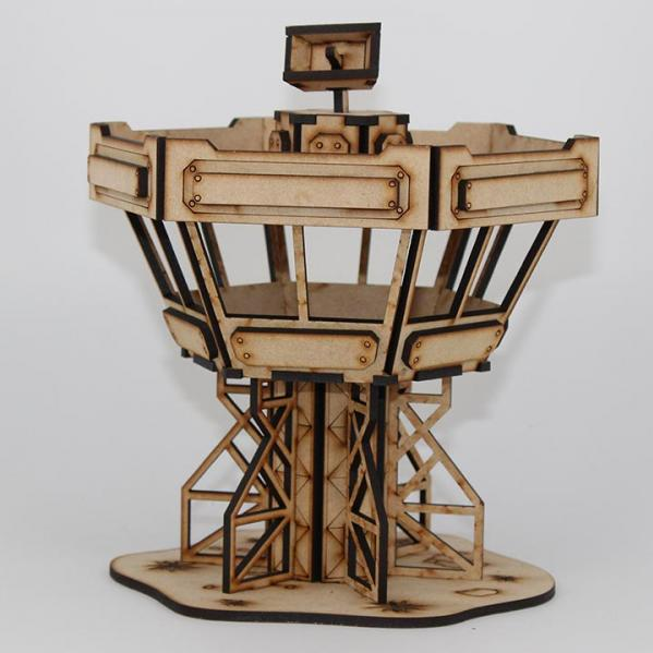 Laser Craft Workshop MDF Terrain: 2-Story Control Tower