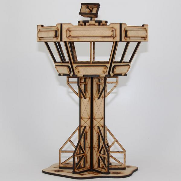 Laser Craft Workshop MDF Terrain: 3-Story Control Tower