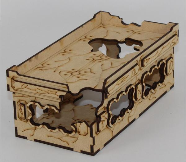 Laser Craft Workshop MDF Terrain: 8'' x 4'' Ruined Blockhouse