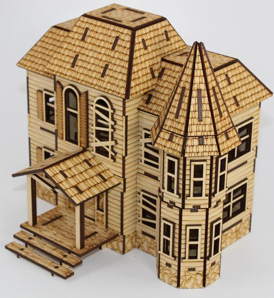 Laser Craft Workshop MDF Terrain: Abandoned Manor