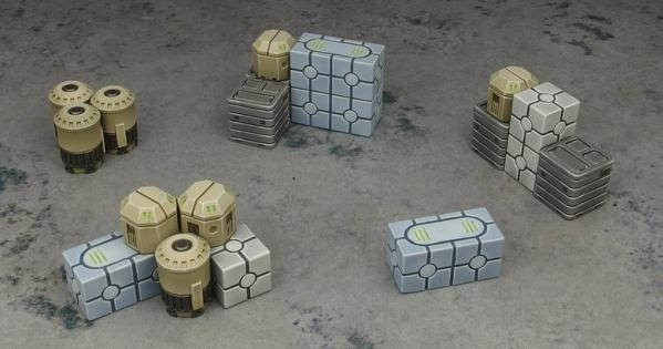 Micro Art Studio Terrain: Cargo Crates (5) (Star Wars Legion compatible)