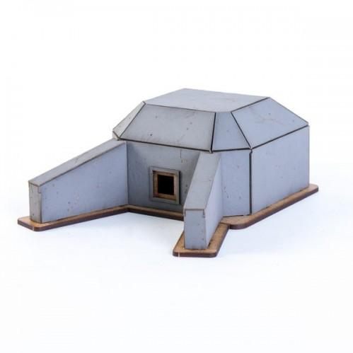 15mm Terrain: 15mm Concrete Bunker