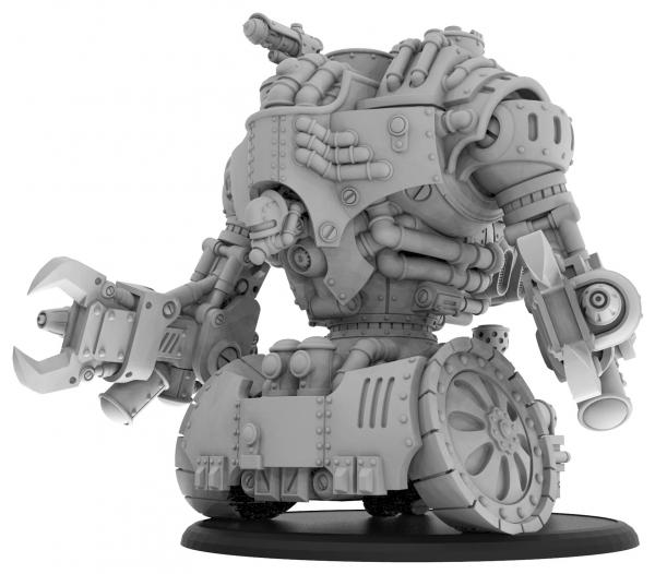 Warmachine: (Golden Crucible) Vulcan – Crucible Guard Colossal (resin)